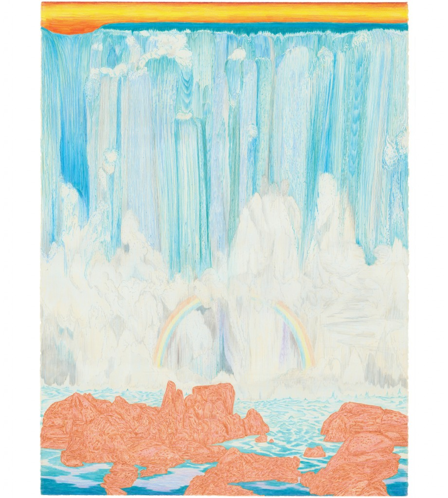 &nbsp;&nbsp;&nbsp;&nbsp;&nbsp;&nbsp;&nbsp;&nbsp;&nbsp;&nbsp;&nbsp;&nbsp;<em>big falls,</em>  colored pencil, 40