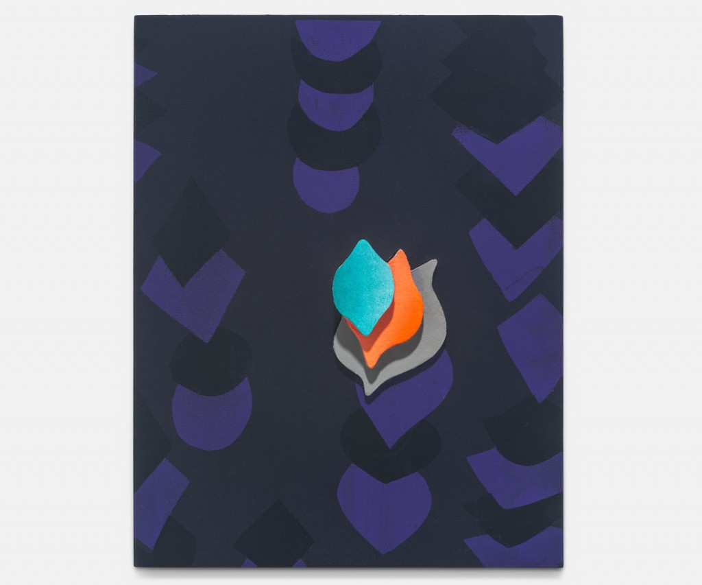 &nbsp;<em>flame,</em> acrylic on linen, 18